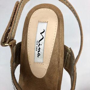 Nina Shoes - NINA Wedge Sandals - Size 8